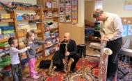 Pan Sadowski i saksofon